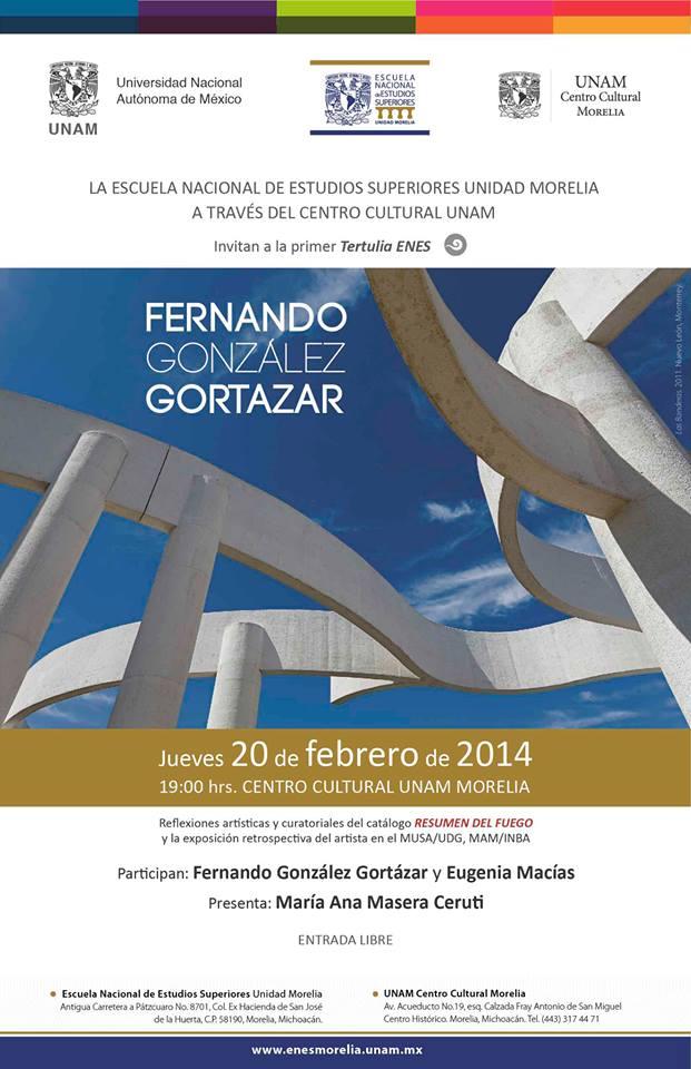 cartel González Gortazar