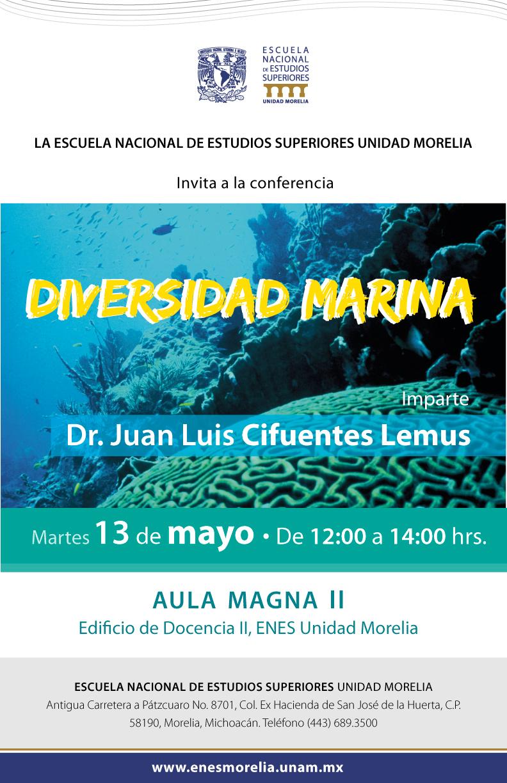 Conferencia sobre diversidad marina