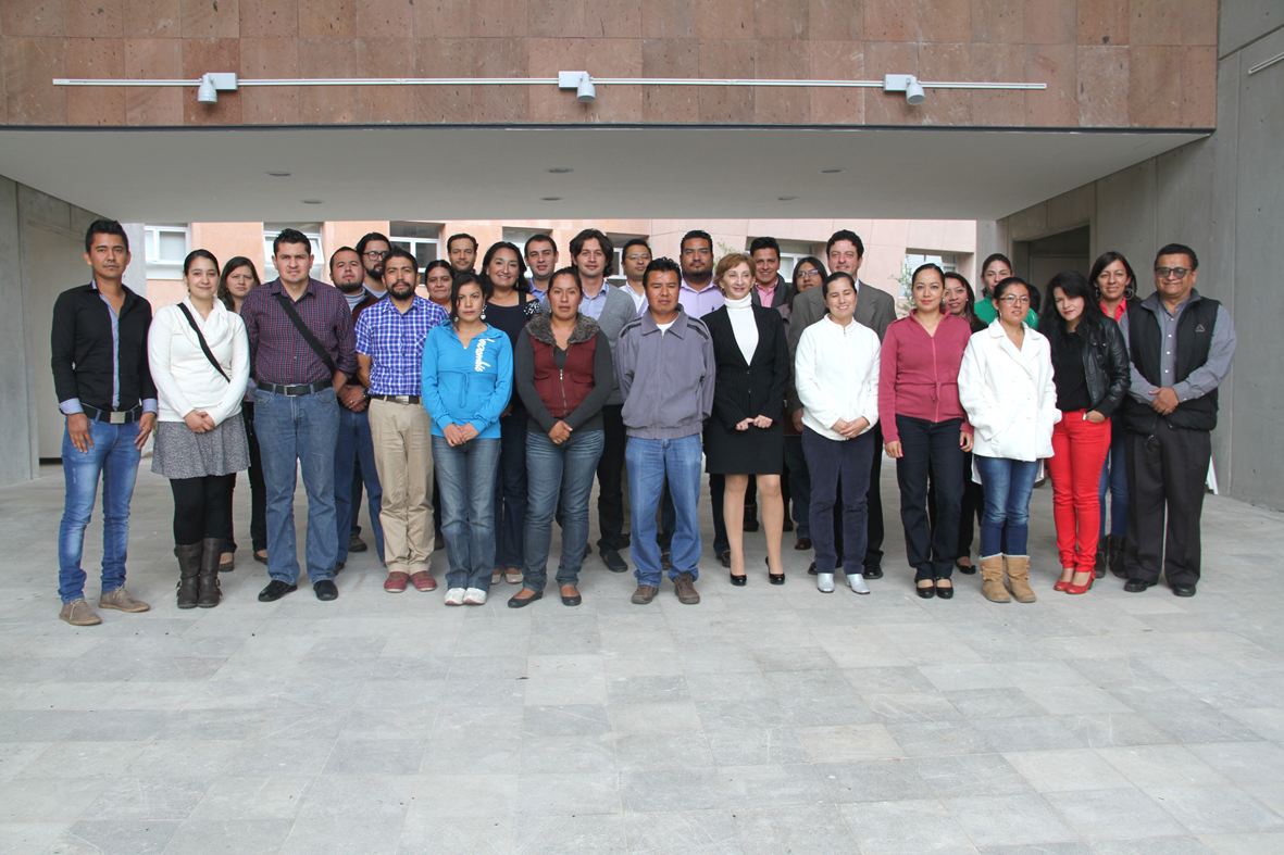 Alumnos de la Maestría en Docencia para la Educación Media Superior en Morelia.