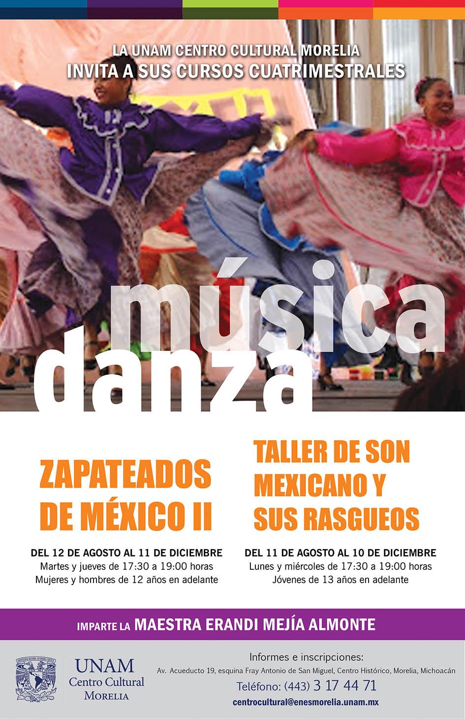Curso música y danza