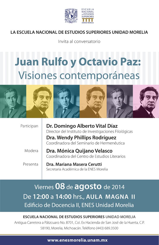Conversatorio-Rulfo-Paz-ENES