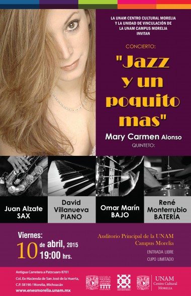 mary carmen jazz