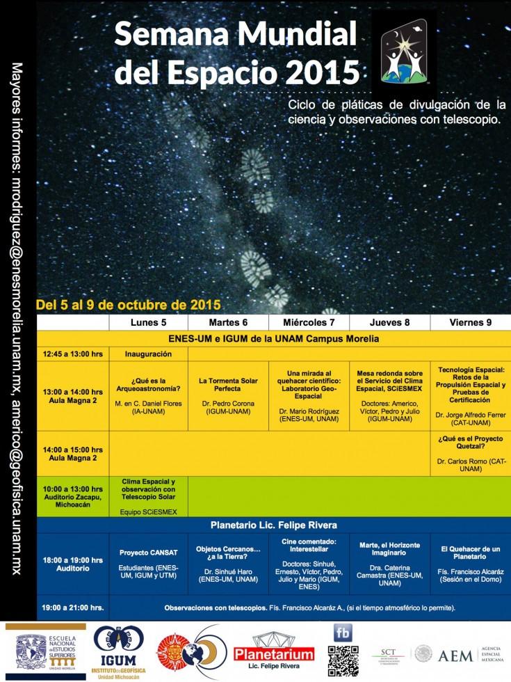 SemanaMundial Espacio2015