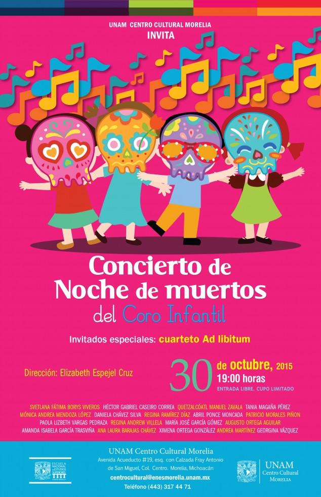 concierto coro infantil muertos