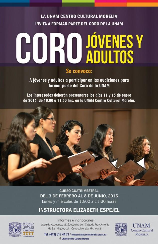 TALLER DE CORO ADULTOS