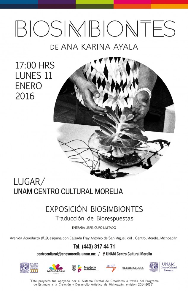 cartel CCU biosimbiontes
