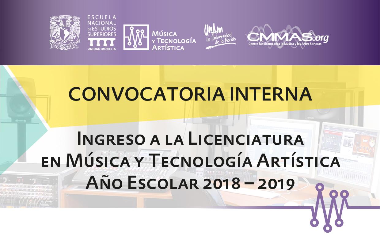 Convocatoria MyTA 2019-1-01