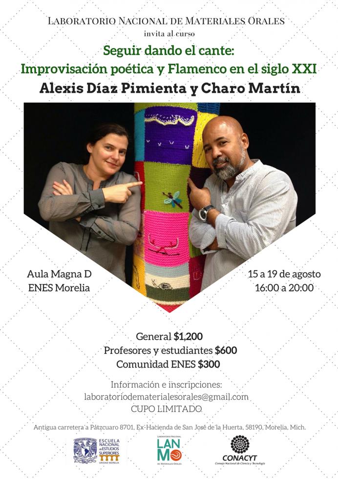 Alexis Díaz PimientaCharo Marín
