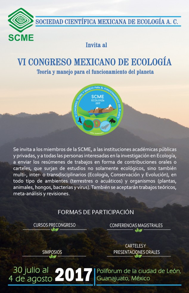 CartelCongresoEcologia2017