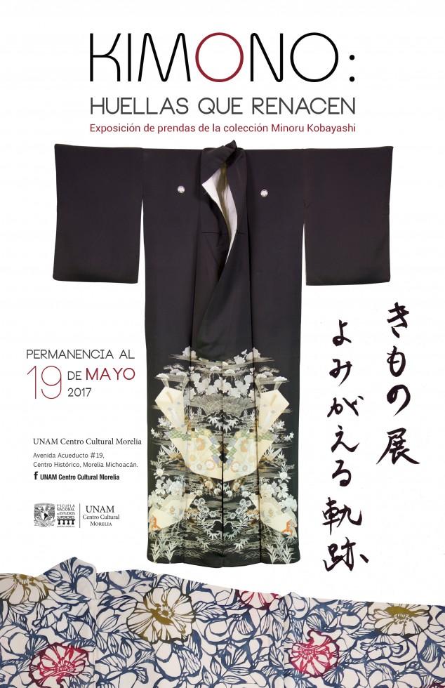 19 de mayo, exposición KIMONOS