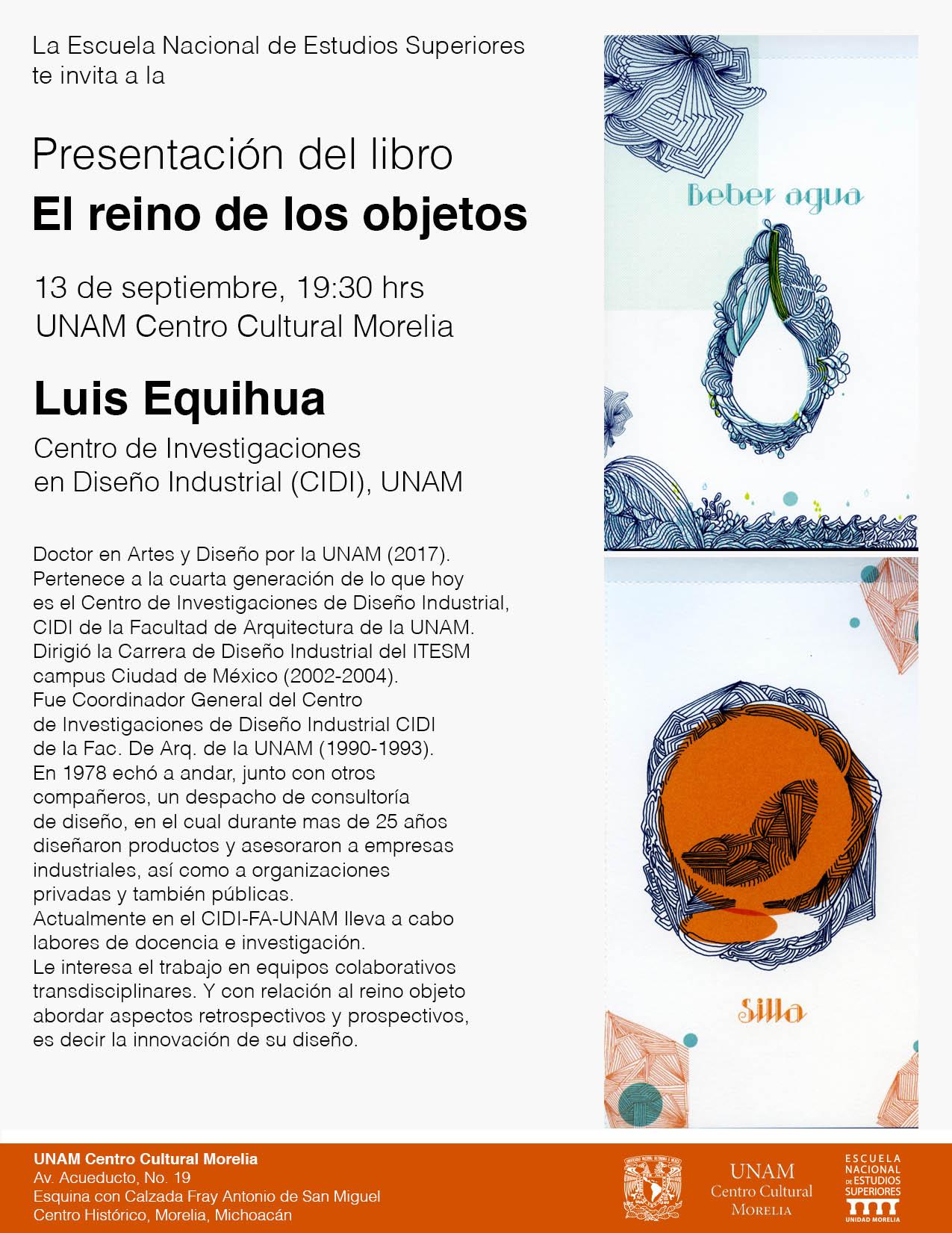 cartel presentacion libro
