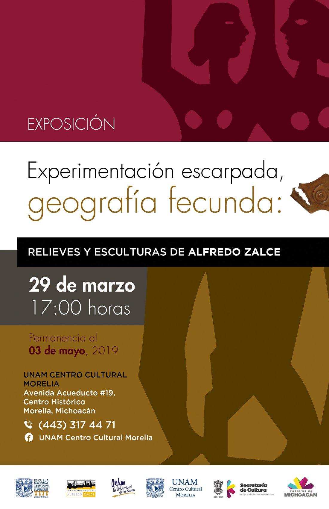 Cartel Exposición Alfredo Zalce