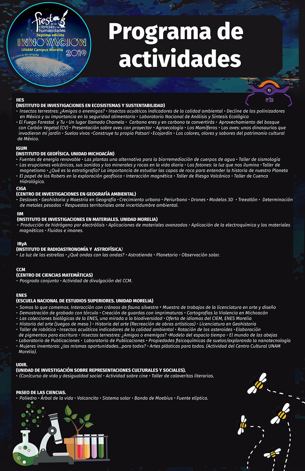 cartel de programa talleres 2